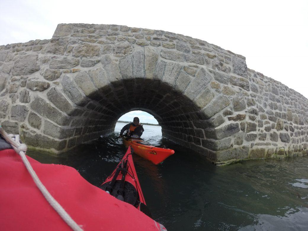 Pont de st cado Ria d'Etel