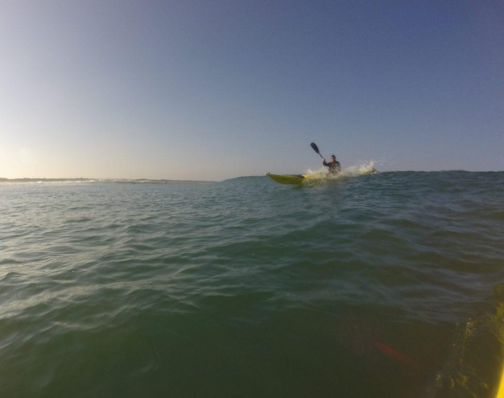 Prise de surf